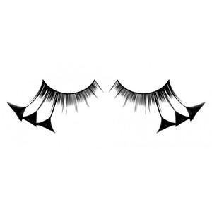 BL604 Ресницы черные перья