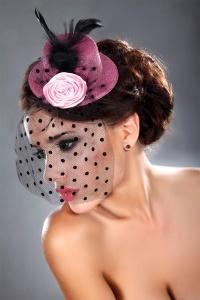 шляпка модель 19 (OS розовая 20-01-14L)