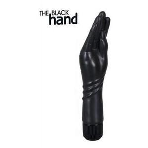 Вибратор для фистинга Black Hand