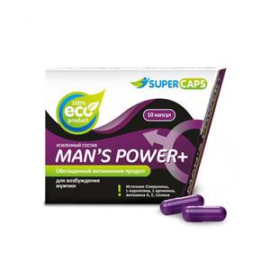 MAN`S POWER+ (для мужчин) 10капсул