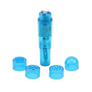 Мини вибратор THE ULTIMATE MINI-MASSAGER - Blue , арт. CN-33063412