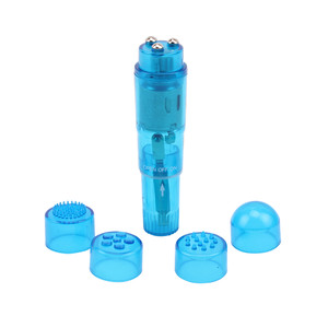 Мини вибратор THE ULTIMATE MINI-MASSAGER - Blue , арт. CN-33063412