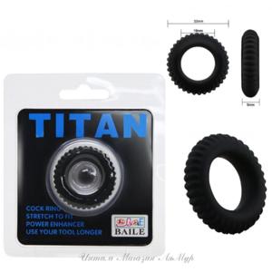 Эрекционное кольцо Baile Titan , BI-210144
