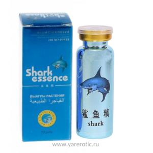 Акулий экстракт (SHARK ESSENCE) для сильной и уверенной эрекции 1 шт.
