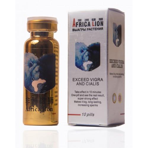 Африканский лев (AFRICA LION) биокомплекс для эрекции 1 шт