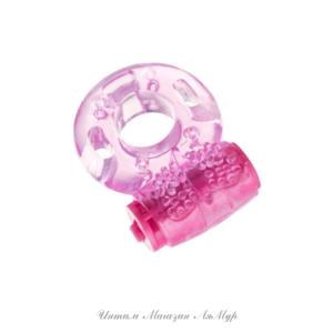 Эрекционное кольцо Erotist, TPE, розовое, Ø1,7 см , арт.548004