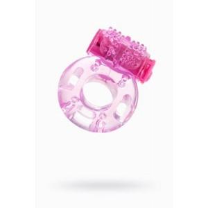 Виброкольцо TOYFA, TPE, розовый, 4,5 см арт.818040-3