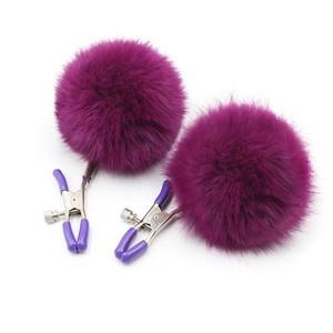 """Зажимы на соски """"Fur Violet clamp"""" , арт. EH 202300082"""