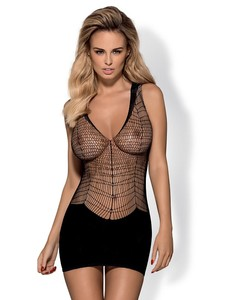 Obsessive D 603 DRESS (Черный, S/M/L) платье